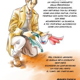 Capovin fazzoletto poesia