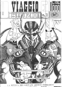 N°0, copertina di Buzzi, Diegoli, Mazzacurati